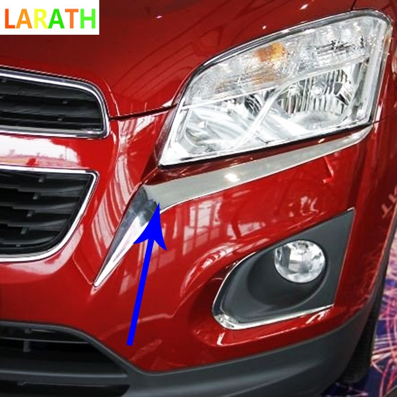 For Chevrolet Trax 2014 2015 ABS Chrome Car Exterior Front