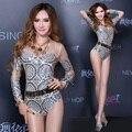 Para mujer disfraces sexy body perspectiva gasa traje ds sexy dj mujer cantante de jazz danza ropa mostrar ropa del funcionamiento del partido