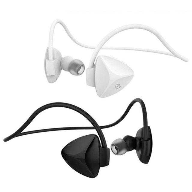 SH03D Беспроводная Связь Bluetooth 4.0 Гарнитура Стерео NFC Handsfree Спорт Наушники MP3 Media Player Voice Reminder Sweatproof Автоспуск