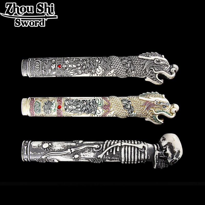 La Katana Tsuka Katana manico In Resina Drago maniglia Samurai lama accessori