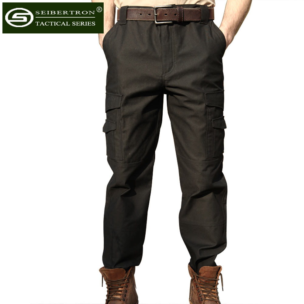 Seibertron Men's Tactical M65 BDU Pants Military Army Infantry Utility Pants seibertron edc