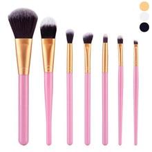 New Arrival Top Fashion Women 7Pcs Cosmetic Brush Makeup Brush Sets Kits Tools P