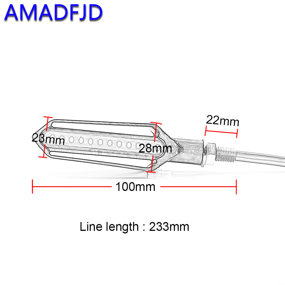 Amadfjd Turn Signals Led Lamps Motorrad Blinker Motorcycle Signal Schematic Indicator Flasher Stop On Alibaba