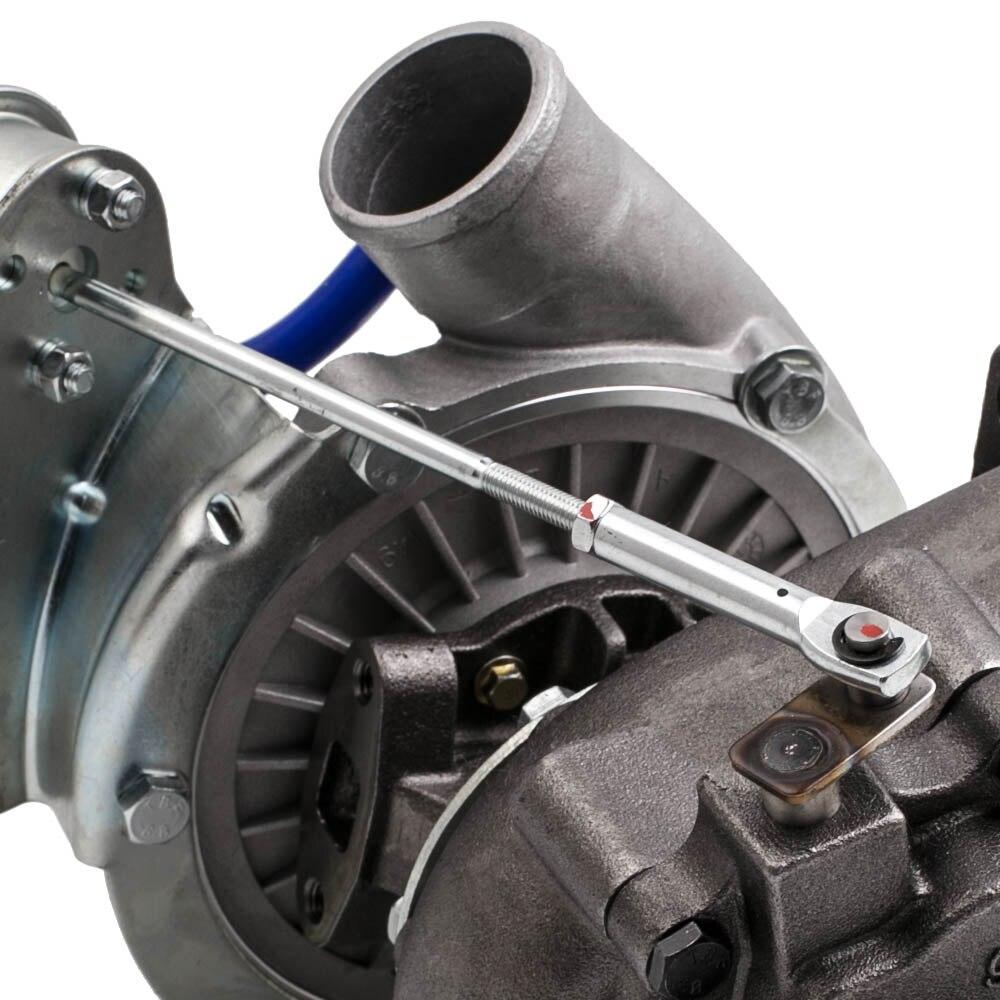 400 + hp T04E Универсальный турбонагнетатель W/выпускной коллектор для BMW E36 M3 I6 92 99 4AN + Turbo brasdied подача масла Inlien Line Kit - 5