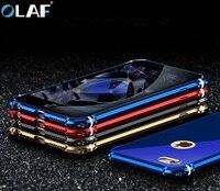 Olaf Luxury Case For Apple IPhone 7 6 6S Plus Metal Aluminum Hard Cases Bumper Cover