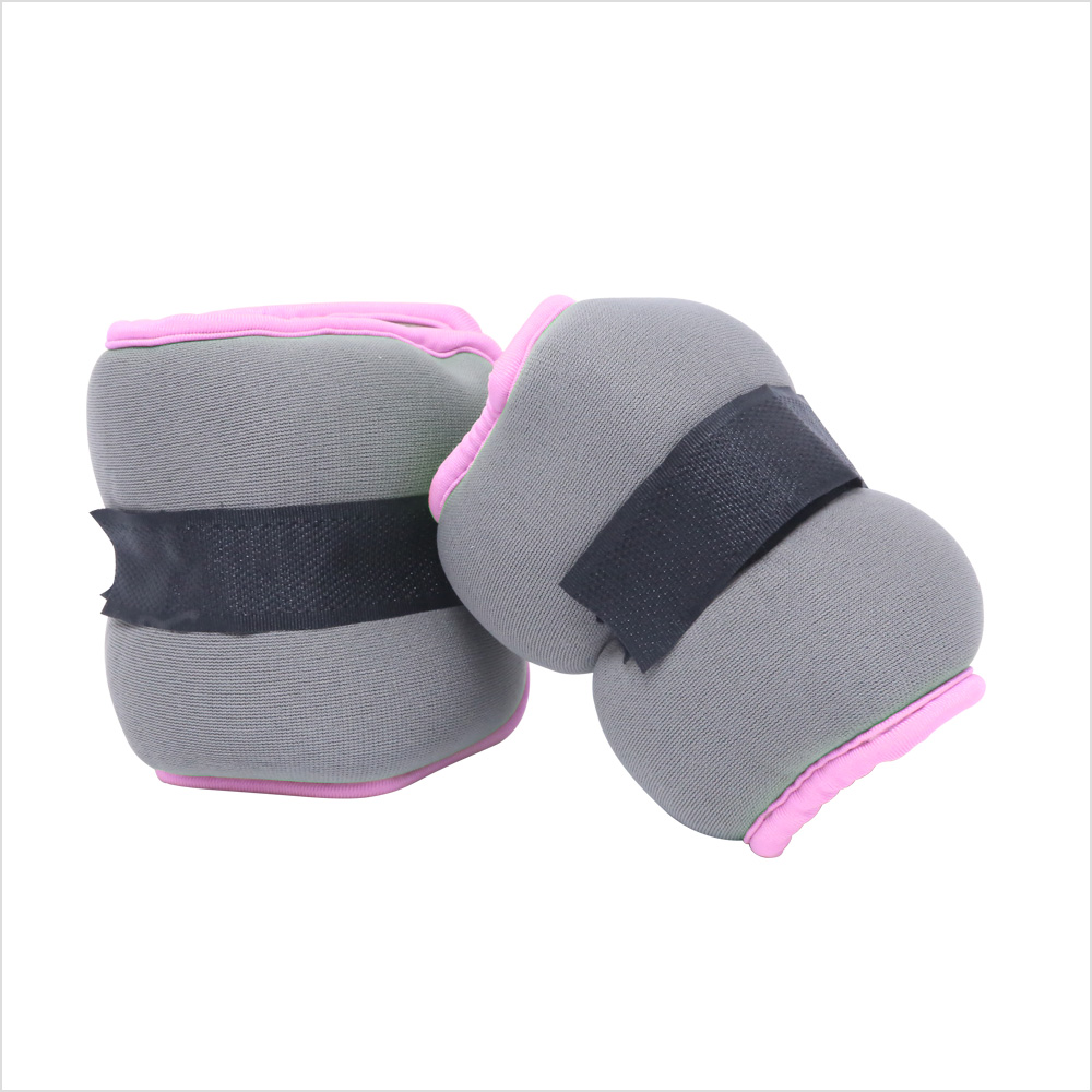 CAP Fitness Neoprene Adjustable Ankle/Wrist Weights For Training Exercise GYM Running Sand Bag , 2 LB Pair