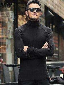Image 1 - Zimowy sweter męski sweter marki nowy gruby ciepły sweter sweter męski dorywczo komputer dzianinowe swetry Slim Fit dzianina J541