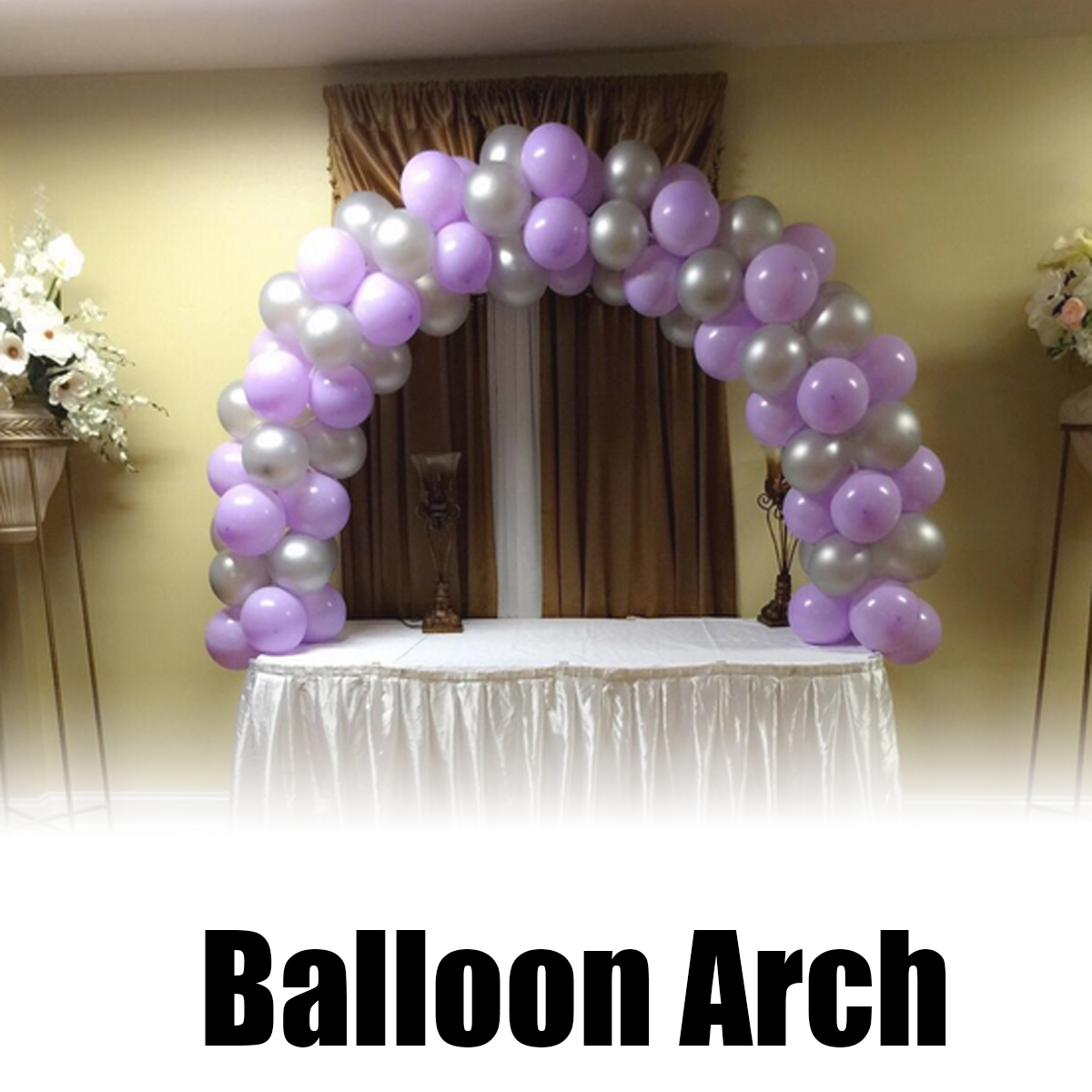Metal Table Balloons Arch Frame Kit Good Decorations For Wedding Birthday Party Steel Accessories Events Supplies
