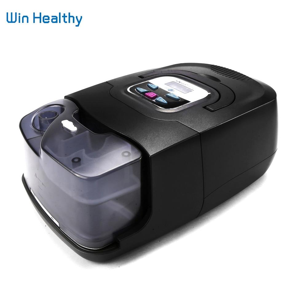 BMC Auto CPAP Macchina Vendita Calda Mini Nero Borsette Resmart Respiratore Per OSAS Anti Russare Apnea Del Sonno Con Maschera Umidificatore