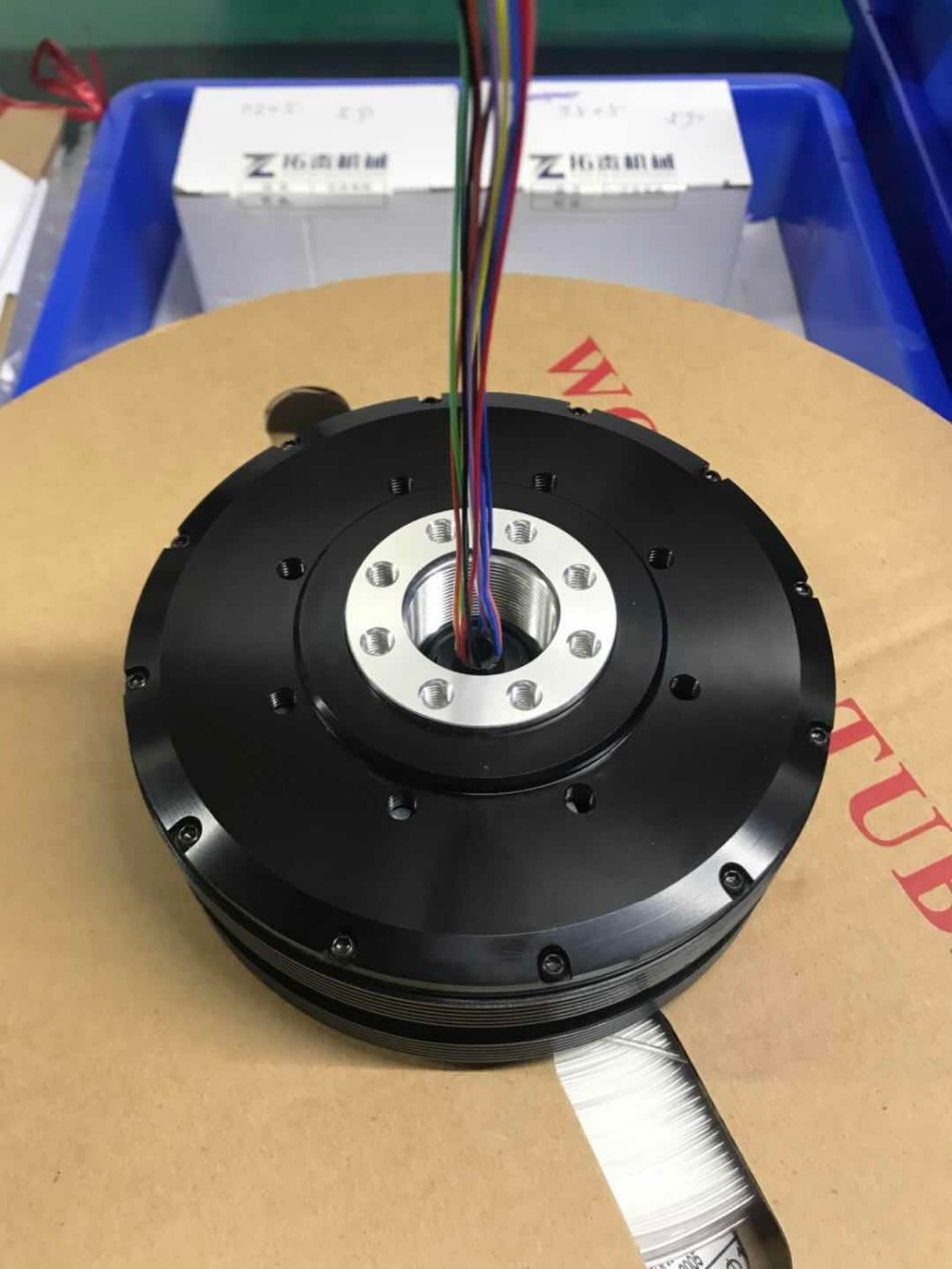 GB120 карданный двигатель с AS5048a encorder скольжения кольцо для AlexMos датчик 32bit BGC Pro gimbal контроллер красный MOVI gimbal 20 30kgs