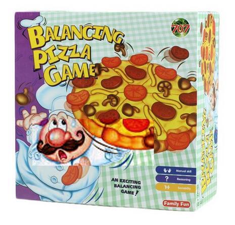 inclinacin de pizza pile up escritorio juego de equilibrio nios nios grandes juguetes de diversin familiar