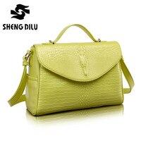 Женская сумка 2016 сумки женские известные бренды роскошная дизайнерская сумочка высокого качества из крокодиловой кожи Tote женские сумки