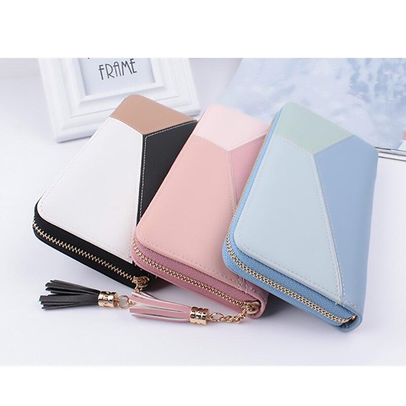 2018 Pu Women Wallet Best Design Fashion Women's Purse Girls Best Wallet Female Case Phone Pocket Long Clutch Carteira Femme