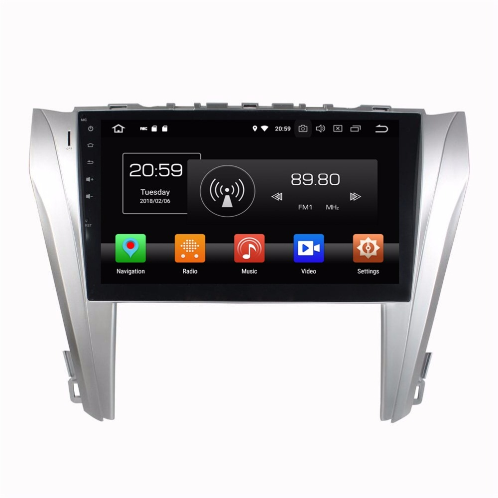 Dvd-Player GPS Car-Radio Navigatio Toyota Android-9.0 For Camry 64GB-ROM 8-Core