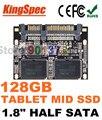"""Kingspec 1.8 """"medio Módulo SATA III SSD 128 GB 1.8 SATA II SSD 128 GB disco duro unidad de estado sólido mlc para la tableta de samsung 128 gb ssd"""