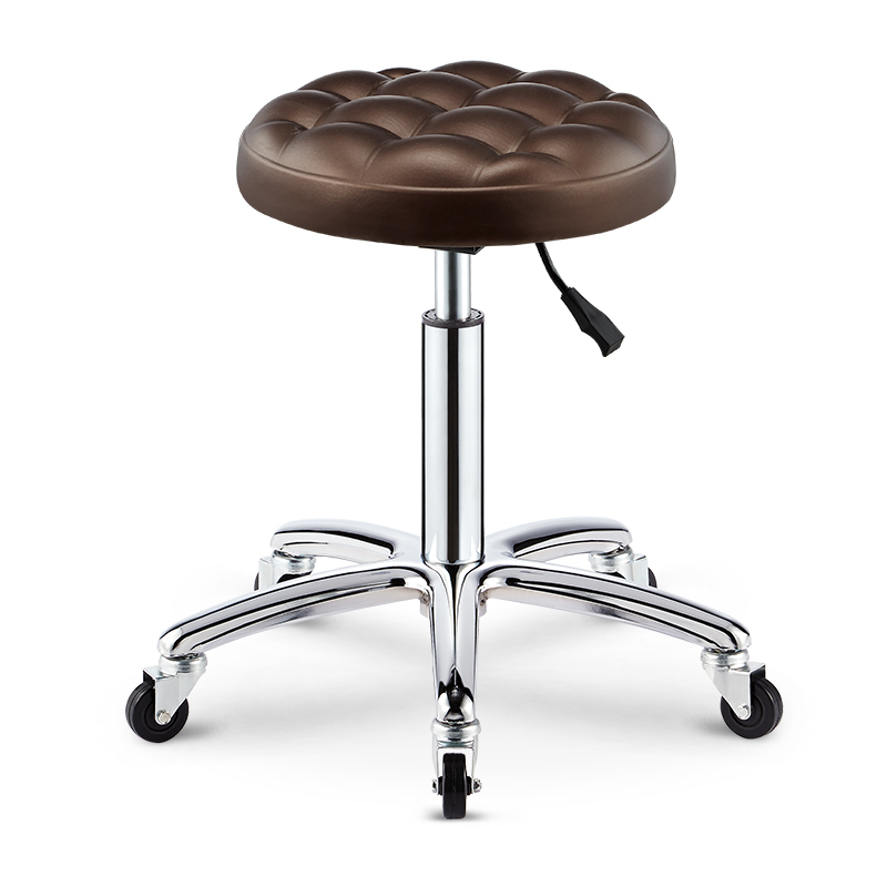 Hairdressing Chair Stool Rotate Rise And Fall Round Stool Son Skilled Worker Stool Beautiful Nail Stool Pulley Make-up Haircut