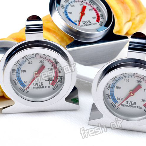hot-sale New Barbecue BBQ Pit Smoker Grill Cooking Food Thermometer Temp Gauge 300 centigrade free shipping