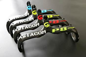 ASIACOM 3 K Full Carbon Geïntegreerde Road Fietsstuur 3 K Matte Racefiets Handvat Gebogen bars 28.6*440/420/440 MM
