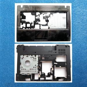 Laptop Upper Case For Lenovo G480 G485 Palmrest Keyboard Bezel Bottom Shell Base Cover 31038445 With HDMI(China)