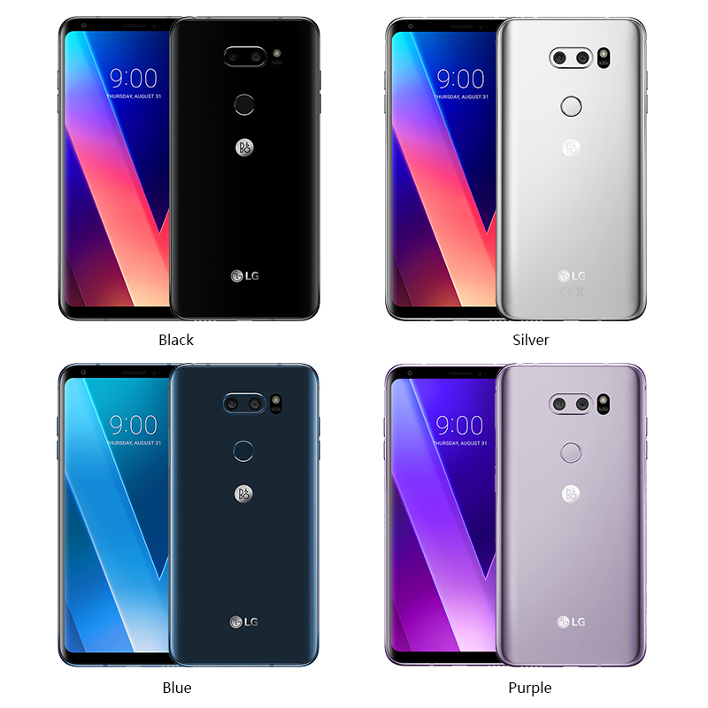 Image 4 - Unlocked LG V30 plus mobile phone V30+ 4GB RAM 128GB ROM Octa Core Dual Sim 6.0''  13MP&16MP Camera 4G LTE SmartPhone 3300mAh-in Cellphones from Cellphones & Telecommunications