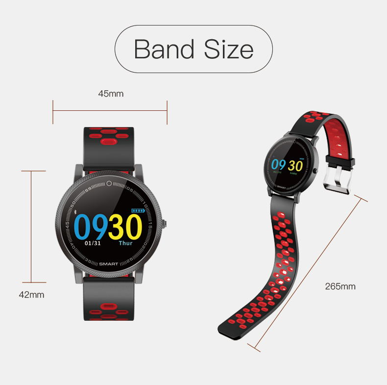 MOCRUX F4 Color Touch Screen Smartwatch Smart Sport Fitness Watch Men Women Heart rate monitor Wearable Devices for IOS Android (16)