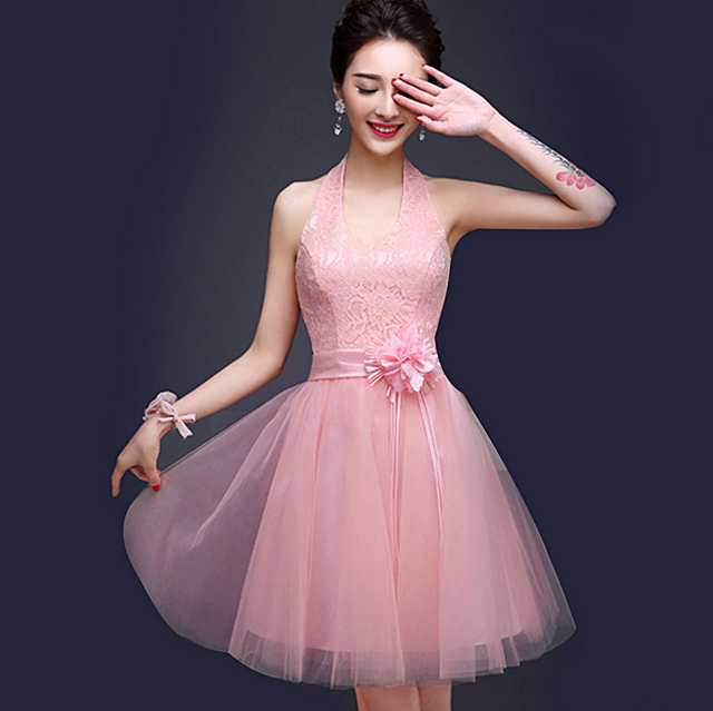Vestido formal dulce 16 partido corto de tul niñas dressy S3177 ...