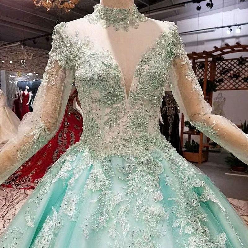AIJINGYU Wedding Dress Long Gowns