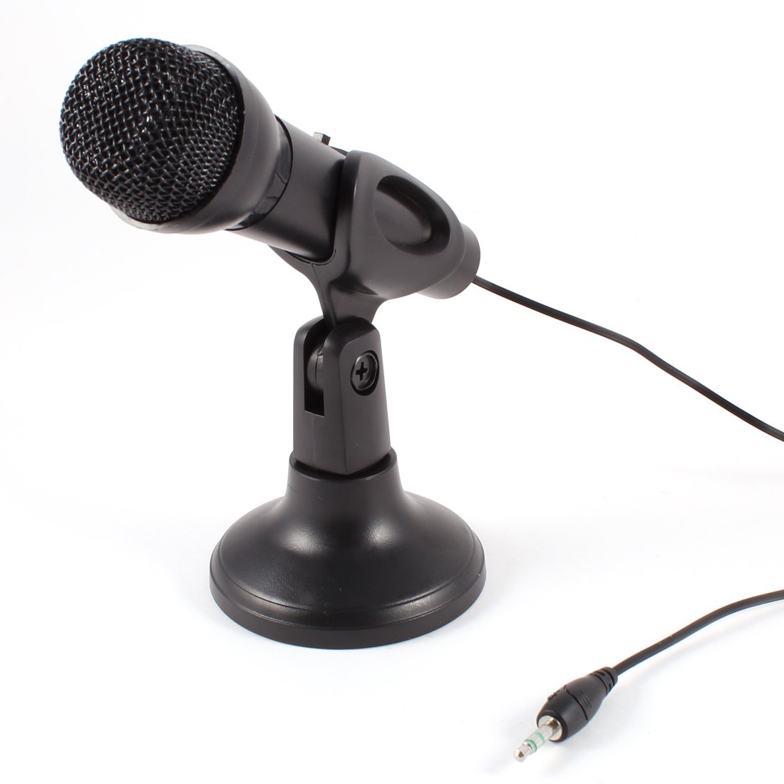 Tsv usb omnidirectional microphone led mic chat studio for pc.