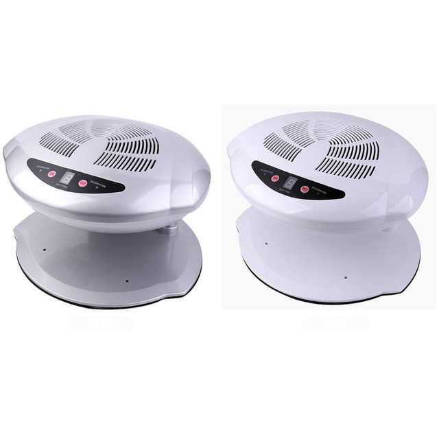 Professional Nail Dryer Fan Hot & Cold Air Nail Dryer Manicure for ...