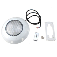 558 LED Underwater Swimming Pool Light Fountains Lamp Pond Light RGB 5 Colour with Remote Control White
