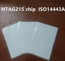 1000個nfcタグ215 nfcフォーラムタイプ2タグnfcカード
