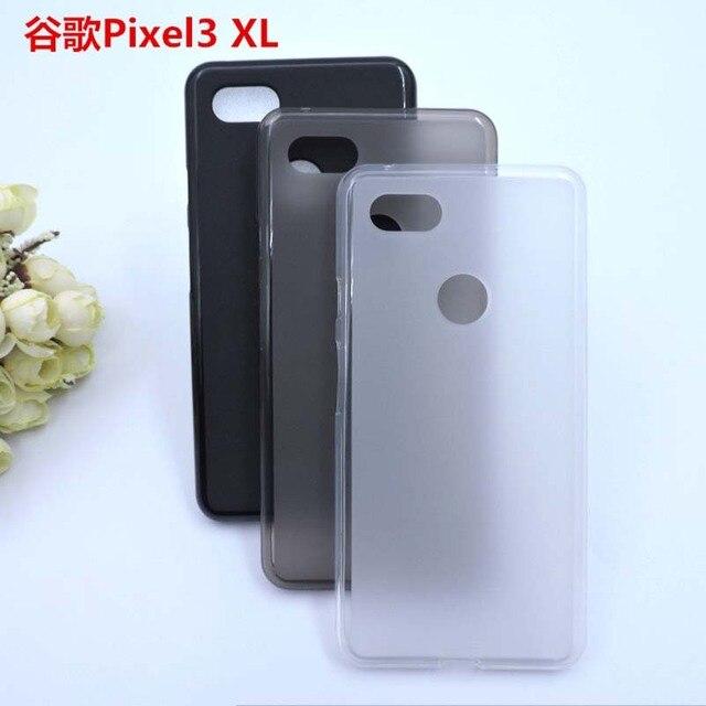 黒透明 Tpu 電話ケース Google のピクセル 3 XL 2 XL2 ネクサス 6 1080P 3 3XL Lite