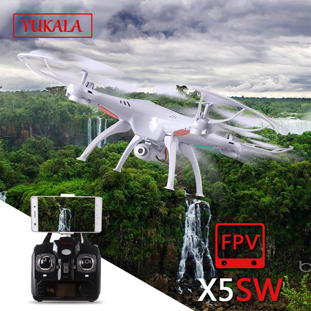 X5S X5SC X5SW FPV Drone X5C Upgrade 2MP FPV Camera Real Time Video RC Quadcopter 2.4G 6-Axis Quadrocopter RC Airplane toy 720p hd wifi fpv camera phone clip holder for syma x5 x5c x5sc x5sw h5c drone jjrc h5c rc quadcopter part fpv real time camera