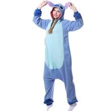 Флис костюм карнавальный для взрослых унисекс кигуруми пижамы костюм Косплей пижамы стежка комбинезоны пижамы