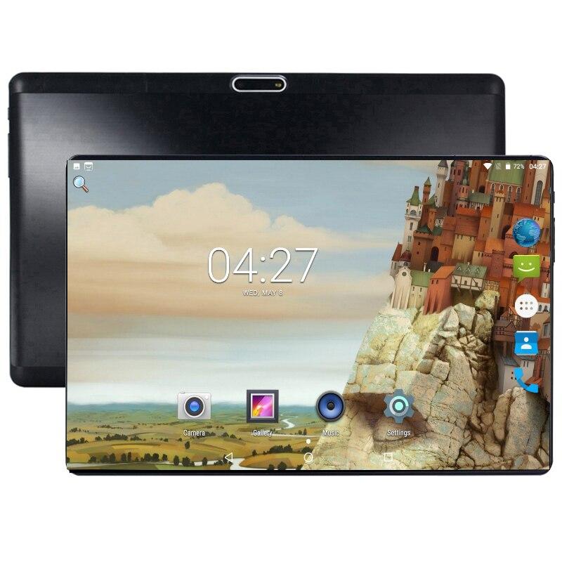 Nouveauté 10 pouces tablette Android 8.0 Octa Core 4 GB RAM 64 GB ROM 8 cœurs 1280*800 IPS 2.5D écran en verre GPS tablettes 10.1 cadeaux