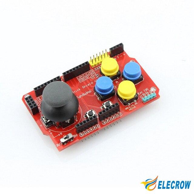 Elecrow I2C Teclado Shield para Arduino uno R3 MEGA R3 PS2 Joystick Gamepads Shield Kit DIY Electrónica 1 Unids Envío Shhipping