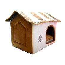 Jesenska zima hišni ljubljenček posteljnina segrevanje pasje hišne psičke postelja odstranljiva psarna za hišne ljubljenčke gnezdo mačje mačke hišna hiša na prostem domače potrebščine ATB-177