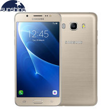 "Original samsung galaxy j5 j5108 4g lte smartphone snapdragon 410 quad core dual sim del teléfono móvil 5.2 ""13.0MP NFC teléfono celular"