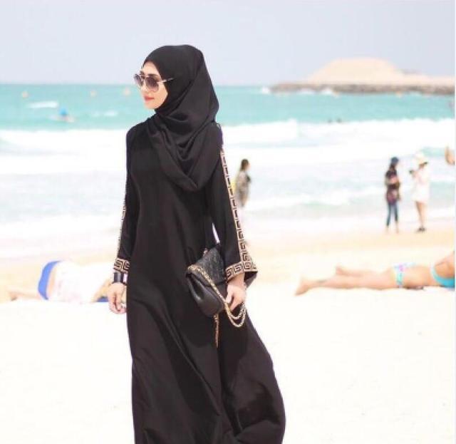Nidha Fabric new design good quality embroidery dubai design the lastest new fashion MUSLIM WOMEN ABAYA