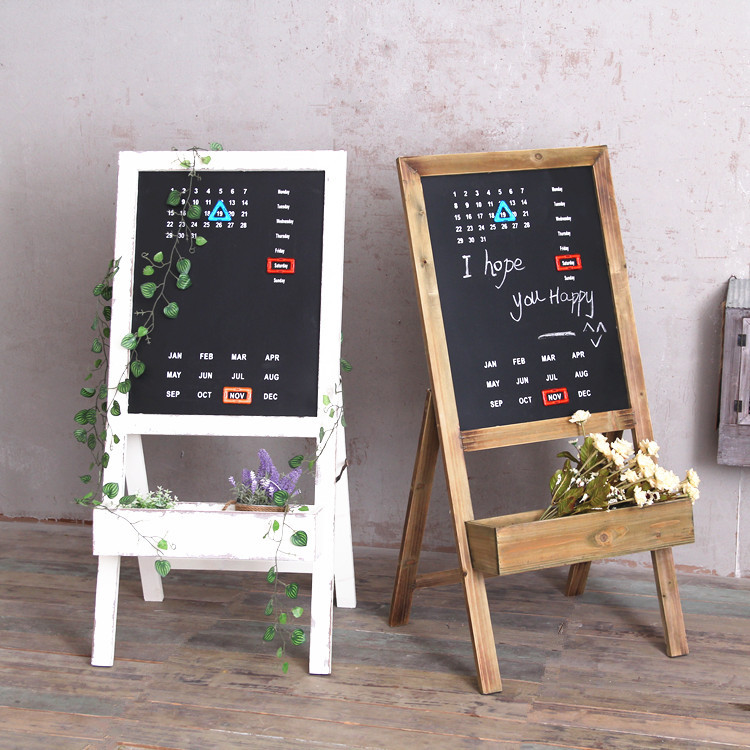 Magnetic calendar blackboard frame living room balcony flower rack type simple creative floor wood flower pot decoration rack стоимость