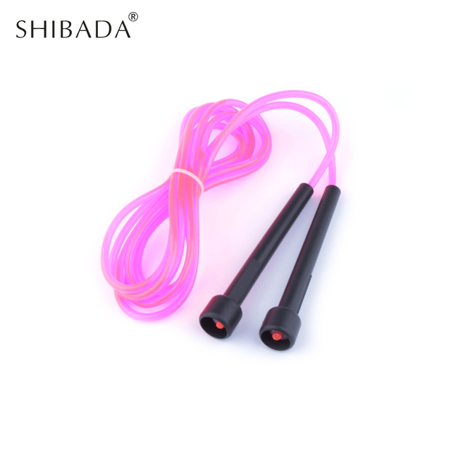 SHIBADA 2.8M Adjustable Limit Skipping Jump Rope Speed Cardio Crossfit Home Gym Exercise Ropes Fitness Equipment  Skipping