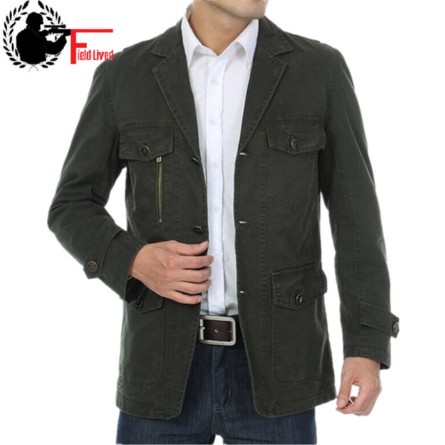 Military Jacket Men Single Breasted Button Cardigan Costume Army Style Winter Coats Male Casual Clothing Green  sc 1 st  AliExpress.com & Military Jacket Men Single Breasted Button Cardigan Costume Army ...