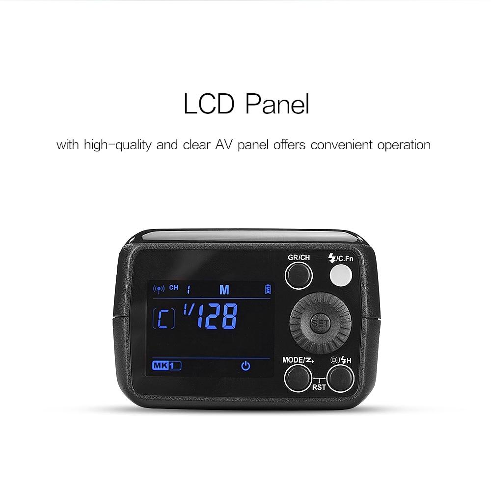 Godox AD200 200Ws 2.4G TTL Flash Strobe 1/8000 HSS Monolight 2900mAh - Kamera və foto - Fotoqrafiya 4