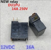 HOT NEW relay DU1PU 12VDC DU1PU-12VDC 12V 16A 250V 4PIN