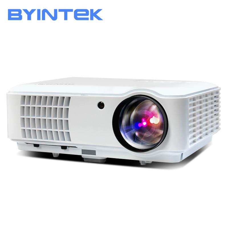 BYINTEK RD804 ATV 1280x800 Digitale cL720 WXGA 1080 p Video LCD Portatile del Teatro Domestico HDMI HDTV USB Video HA CONDOTTO il Proiettore HD