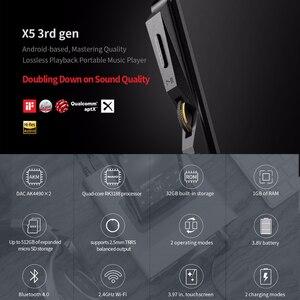 Image 2 - FIIO X5III X5 3nd Gen Android WIFI APTX podwójny AK4490 bezstratny przenośny odtwarzacz muzyki z wbudowanym pamięcią 32G