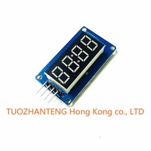 10PCS 4 Bits Digital Tube LED Display Module With Clock Display TM1637 for Arduino Raspberry PI