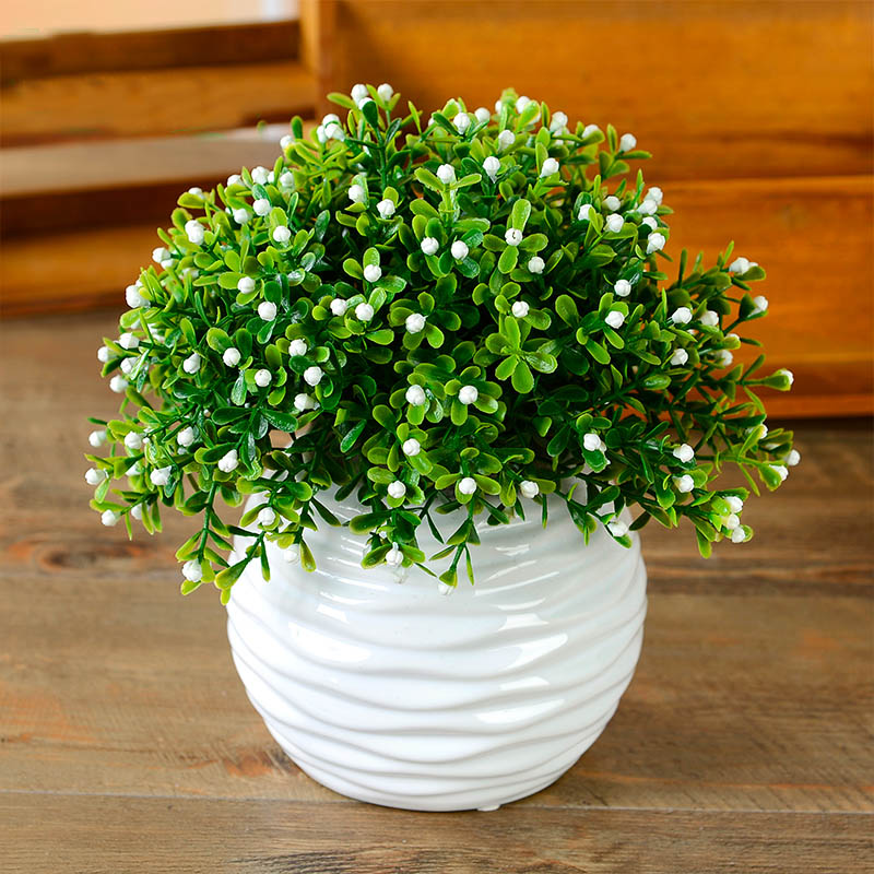 Home Decor New Simulation Mini Flower Green Orchid Bonsai Potted Rhaliexpress: Artificial Flowers For Home Decor Indoor At Home Improvement Advice