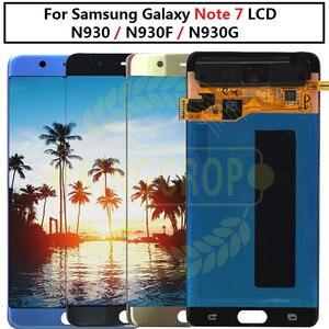 Image 1 - סופר AMOLED לסמסונג הערה מאוורר מהדורת FE הערה 7 N930F N935F LCD תצוגת מסך מגע digitizer AssemblyFor סמסונג Note7 LCD