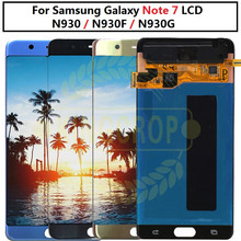 Super AMOLED per Samsung Note Fan Edition FE Note 7 N930F N935F display LCD touch screen digitizer assembly per Samsung Note7 LCD